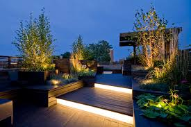 image of awesome contemporary outdoor lighting awesome modern landscape lighting design
