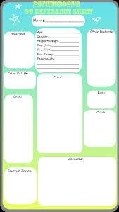 blank oc reference sheet by psychoboss on blank oc reference sheet by psychoboss
