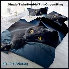 CHREZMAY 2/3Pcs Bedding Set New Design 3D <b>Cat Printing</b> ...