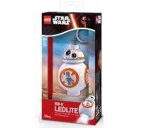 Брелок-фонарик для ключей <b>LEGO Star Wars</b> Дроид BB-8