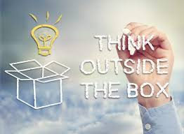 how to make those silly little jobs shine on your resume bigstock think outside the box concept 47348989