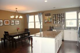 Paint For Open Living Room And Kitchen Kitchen Living Room Open Floor Plan Paint Colors