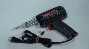 The Best <b>Soldering Gun</b> DIY. LED light. WELLER GUN ...