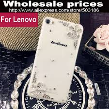 Beautiful Diamond Rhinestone Flower case cover For Lenovo P770 ...