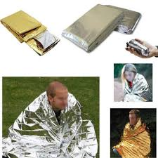 outdoor <b>emergent blanket lifesave</b> treatment camp space foil first aid ...
