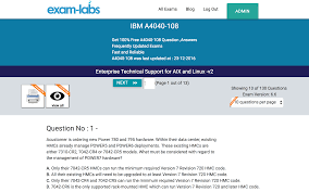 a4040 108 ibm real exam questions 100% exam labs ibm a4040 108 enterprise technical support for aix and linux v2 exam