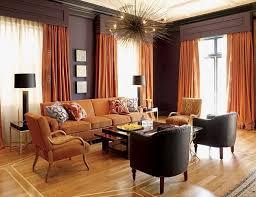 ideas burnt orange: orange color interior design dining room orange grey brown