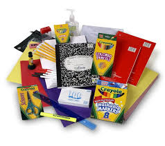 Image result for school supply list clip art
