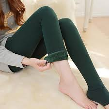 Fur Brushed Stretch Fleece Lined Thick Tights Ladies <b>Autumn Warm</b> ...