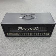 used randall rh g solid state guitar amp watts solid used randall rh200 g2 solid state guitar amp 200 watts