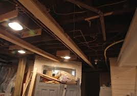 ceiling basement lighting options 1