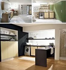 modern laundry design idea bright modern laundry room