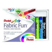 Набор для творчества <b>Пастель</b> для рисования на <b>ткани</b> 7 штук ...