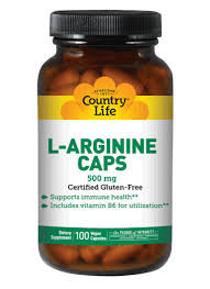<b>L</b>-<b>Arginine 500</b> mg | Country Life Vitamins