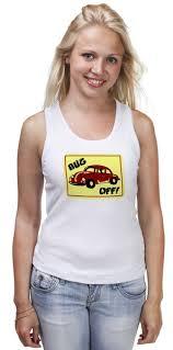 Майка <b>классическая</b> Bug <b>Off</b> #1095672 от Leichenwagen по цене ...