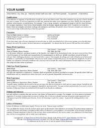 nanny resume example   best resume collectionnanny resume skills