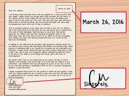 how to write a letter of recommendation for a nanny sample how to write a letter of recommendation for a nanny sample letter