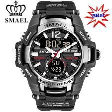 Man Watch <b>2020 SMAEL Brand Men</b> Sports Watches Dual Time ...