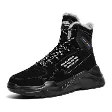 <b>Men Outdoor</b> Sports Ankle Boots Non-Slip Wear-Resistant Hiking ...