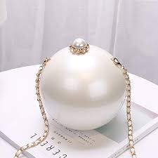 Buy Generic 2017 Fashion <b>Luxury Round</b> Pearl Hand <b>Bag</b> Ladies ...