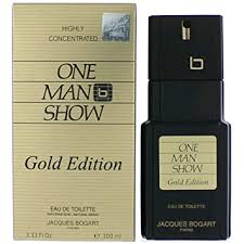 Jacques Bogart <b>One Man Show</b> Eau De Toilette Spray (<b>Gold</b> Edition)