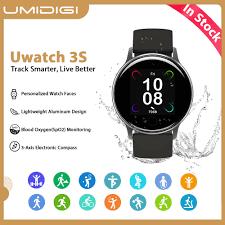 "<b>UMIDIGI Uwatch 3S</b> 1.3"" Smart Watch Fitness Tracker Heart Rate ..."