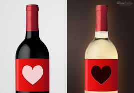 find your wine preference red wine bottle heart white wine bottle red and white bottle red wine