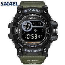 <b>SMAEL</b> Digital Watch Men Fashion <b>Top Luxury Brand</b> Analog Quartz ...
