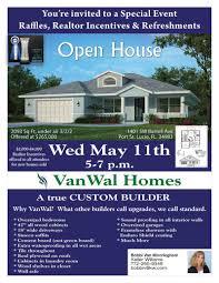 open house 11th vanwal homes vanwal open house
