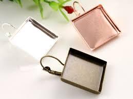 Aliexpress.com : Buy 20mm <b>10pcs</b>/<b>lot</b> 3 Colors Plated Square Style ...