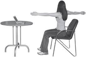 Картинки по запиту гімнастика за комп'ютером