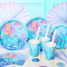 <b>Mermaid Party</b> Supplies | Woodies Party