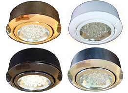 using a 21 point led array these led puck lights use just 18 watts of power and provide as much light as a 20 cabinet lighting puck light