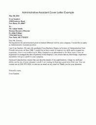 examples cover letter  seangarrette coadministrative assistant cover letter example  x   examples cover letter