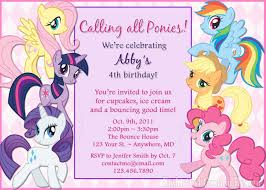 my little pony birthday invitations printable invitations sweet my little pony birthday invitations printable