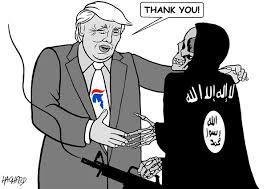 """Résultat de recherche d'images pour """"caricatures trump et islamistes"""""""