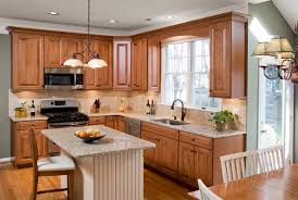 Restaining Kitchen Table Refinishing Kitchen Cabinets Marni At Home When To Replace Reface