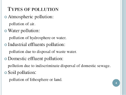 casestudy on pollution Pollution Issues