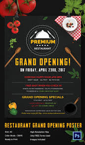 grand opening flyer template 34 psd ai vector eps format restaurant grand opening poster
