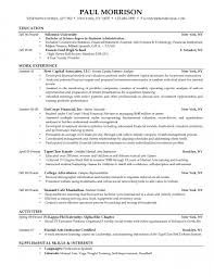 resume template for high school students com sample resume for college student education