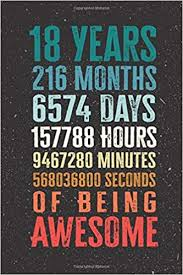 <b>18 Years</b> 216 Months <b>Years Of Being</b> Awesome: Funny <b>18 Year Old</b> ...
