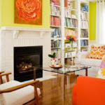 awesome living room ideas bright orange and yellow living room at awesome colorful living room design awesome office narrow long