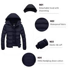 Wantdo <b>Mens</b> Winter <b>Thicken Cotton Coat</b> Puffer <b>Coats</b>, <b>Jackets</b> ...