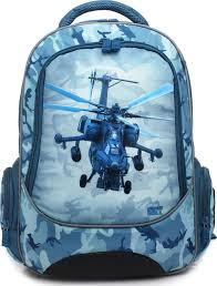<b>4ALL Ранец школьный School</b> Вертолет — купить в интернет ...