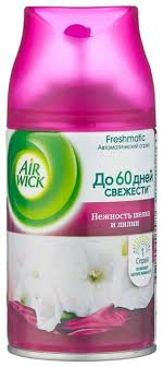 Air Wick <b>сменный баллон Нежность шелка</b> и лилии, 250 мл ...
