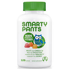 SmartyPants, <b>Kid Formula and Fiber</b>, 120 Gummies | Shopee Malaysia
