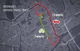 bicycle utopia groningen bicycle boulevards groningen traffic