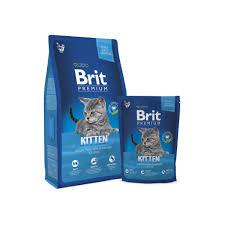 [FREE 1.5KG random] <b>Brit Premium Cat Kitten</b> (8KG) | Shopee ...