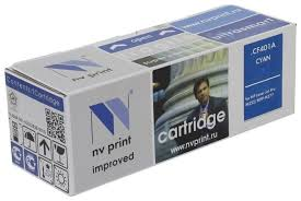 Купить <b>Картридж NV Print CF401A</b> для HP, совместимый по ...