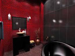 simple red and black bathroom colors black bathroom fixtures and furniture home design decor ideas black and red furniture